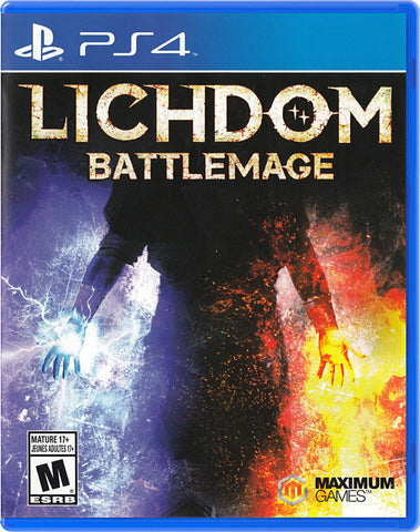 Lichdom - Battlemage (PLAYSTATION4) PLAYSTATION4 Game