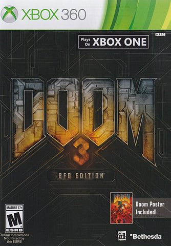 Doom 3 (BFG Edition) (XBOX360) XBOX360 Game