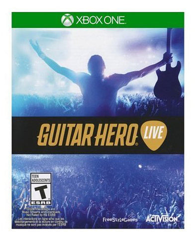 Guitar Hero - Live (Game ONLY) (XBOX ONE) XBOX ONE Game