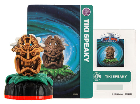 Skylanders Trap Team - Tiki Speaky (Loose) (Toy) (TOYS) TOYS Game