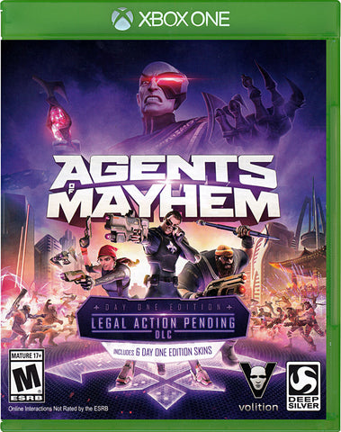 Agents of Mayhem (Day One Edition) (XBOX ONE) XBOX ONE Game