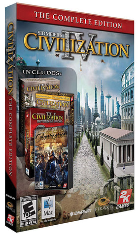 Sid Meier s Civilization IV - Complete Edition (EU Version) (PC) PC Game