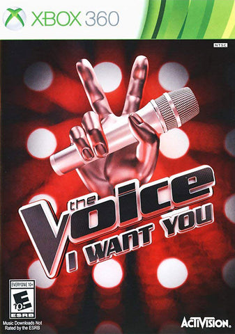 The Voice - I Want You (Game Only) (XBOX360) XBOX360 Game