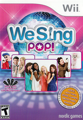 We Sing Pop! (NINTENDO WII) NINTENDO WII Game