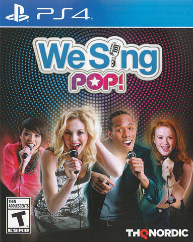 We Sing Pop! (Bilingual) (PLAYSTATION4) PLAYSTATION4 Game