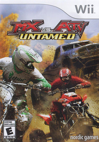 MX vs. ATV - Untamed (Bilingual) (NINTENDO WII) NINTENDO WII Game