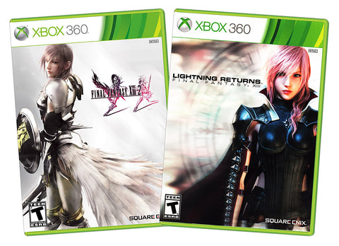 Final Fantasy XIII-2 / Lightning Returns - Final Fantasy XIII (2-pack) (XBOX360) XBOX360 Game