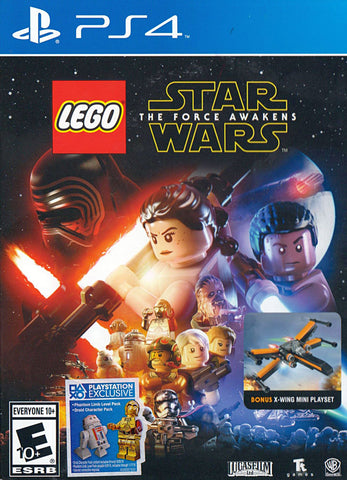LEGO Star Wars - The Force Awakens (Bonus X-Wing) (PLAYSTATION4) PLAYSTATION4 Game