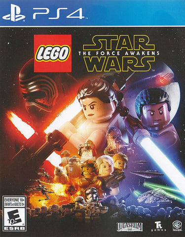 LEGO Star Wars - The Force Awakens (Bilingual Cover) (PLAYSTATION4) PLAYSTATION4 Game