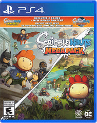 Scribblenauts Mega Pack (Bilingual) (PLAYSTATION4)