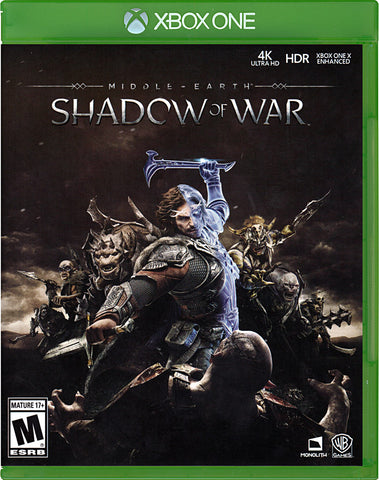 Middle Earth - Shadow Of War (XBOX ONE) XBOX ONE Game