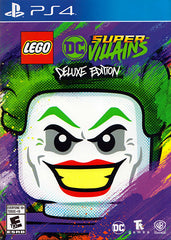 LEGO DC Super-Villains (Deluxe Edition) (Bilingual) (PLAYSTATION4)