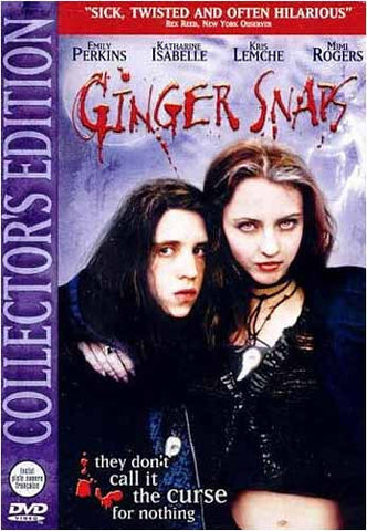 Ginger Snaps (Collector's Edition) DVD Movie