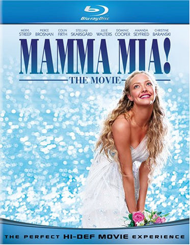 Mamma Mia! The Movie (Blu-ray) BLU-RAY Movie
