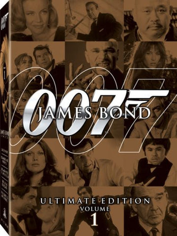 James Bond Ultimate Edition: Vol. 1 (Boxset) (Bilingual) DVD Movie