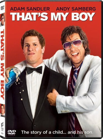 That's My Boy DVD Movie