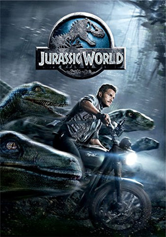 Jurassic World DVD Movie