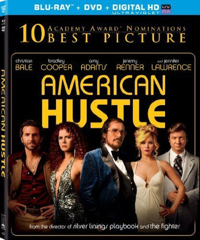 American Hustle (Blu-ray + DVD + Digital HD with UltraViolet) (Blu-ray) BLU-RAY Movie