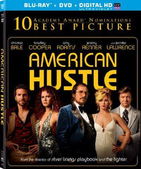 American Hustle (Blu-ray + DVD + Digital HD with UltraViolet) (Blu-ray)