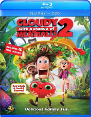Cloudy with a Chance of Meatballs 2 (Two Disc Combo: Blu-ray / DVD + UltraViolet Digital Copy) [Blu-