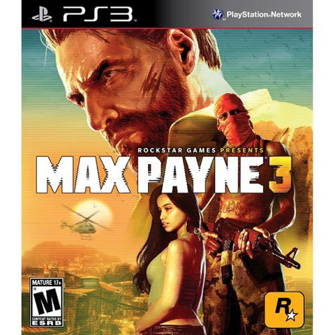 Max Payne 3 (PLAYSTATION3) PLAYSTATION3 Game