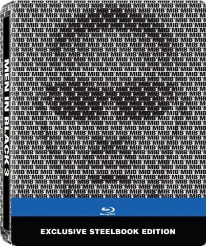 Men in Black 3 (Steelbook)(Blu-ray) BLU-RAY Movie