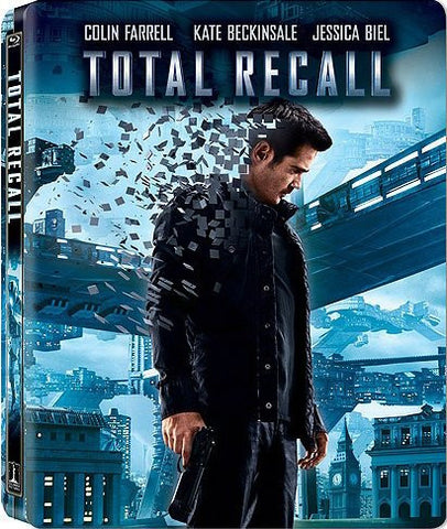 Total Recall - Extended Director s Cut (SteelBook ) (Blu-ray + DVD + Digital Copy) (Blu-ray) BLU-RAY Movie