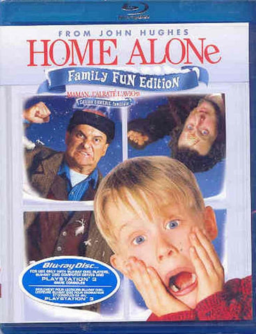 Home Alone - Family Fun Edition (Bilingual) (Blu-ray) BLU-RAY Movie
