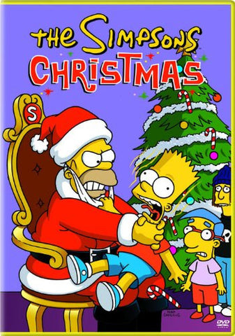The Simpsons Christmas DVD Movie