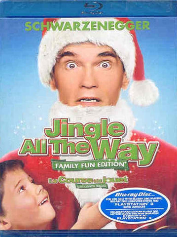 Jingle All the Way (Bilingual) (Blu-ray) BLU-RAY Movie