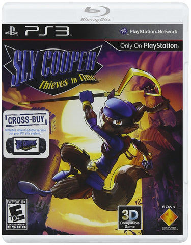 Sly Cooper - Thieves in Time (PLAYSTATION3) PLAYSTATION3 Game