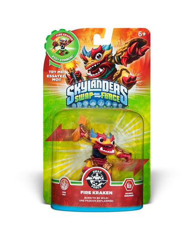 Skylanders SWAP Force - Fire Kraken Character (SWAP-able) (Toy) (TOYS) TOYS Game