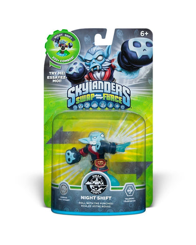 Skylanders SWAP Force - Night Shift Character (SWAP-able) (Toy) (TOYS) TOYS Game