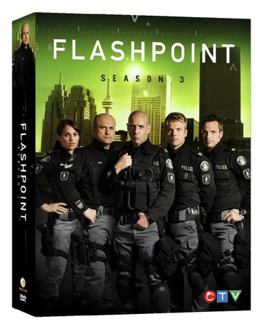 Flashpoint: The Complete Third Season DVD Movie