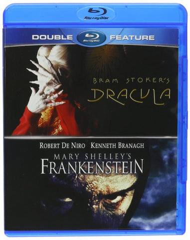 Bram Stoker s Dracula / Mary Shelley s Frankenstein (Double Feature) (Blu-ray) BLU-RAY Movie