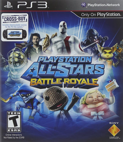 PlayStation All-Stars Battle Royale (PLAYSTATION3) PLAYSTATION3 Game