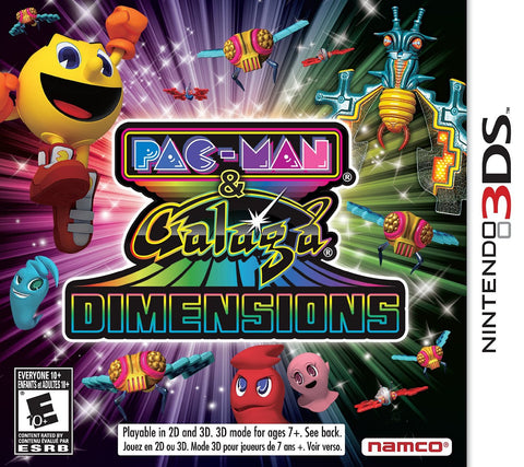 Pac-Man and Galaga Dimensions (3DS) 3DS Game