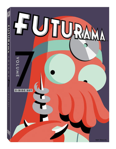 Futurama: Volume 7 DVD Movie