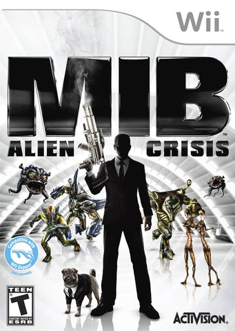 Men In Black - Alien Crisis (NINTENDO WII) NINTENDO WII Game