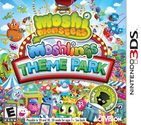 Moshi Monsters - Moshlings Theme Park (3DS) 3DS Game