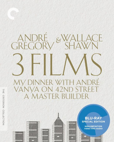 Andre Gregory & Wallace Shawn - 3 Films (Blu-ray) BLU-RAY Movie