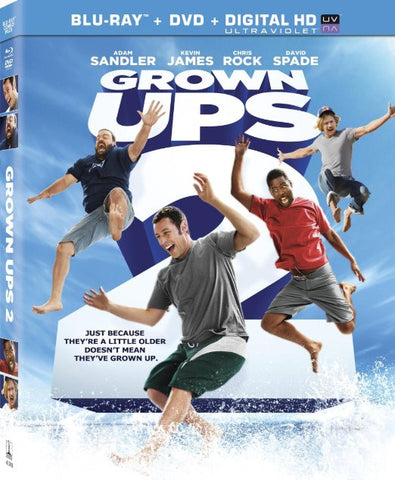 Grown Ups 2 (Blu-ray + DVD + Digital HD) [Blu-ray] BLU-RAY Movie