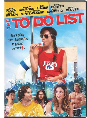 The To Do List (+UltraViolet Digital Copy) DVD Movie