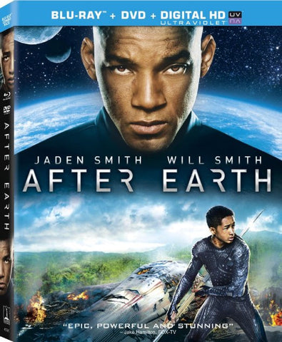 After Earth (Two Disc Combo: Blu-ray / DVD + UltraViolet Digital Copy ) (Blu-ray) BLU-RAY Movie