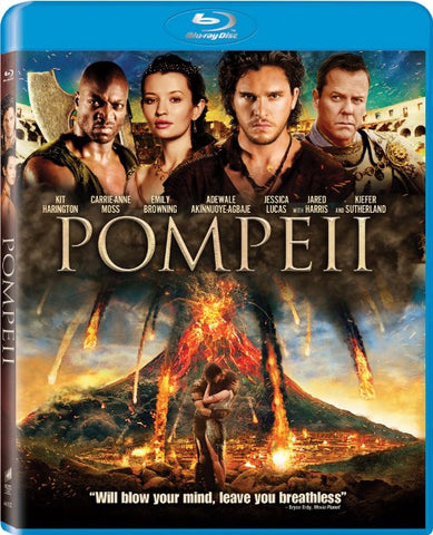 Pompeii (Blu-ray) BLU-RAY Movie