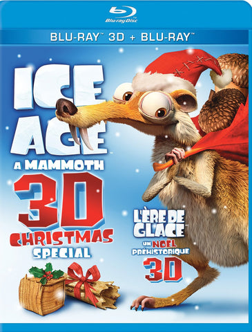 Ice Age - A Mammoth Christmas Special (Bilingual) (Blu-ray 3D + Blu-ray) (Blu-ray) BLU-RAY Movie