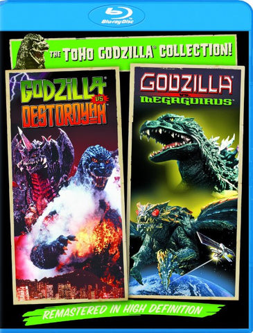 Godzilla Vs. Destoroyah / Godzilla Vs. Megaguirus: The G Annihilation Strategy (Blu-ray) BLU-RAY Movie