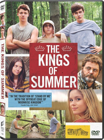 The Kings of Summer DVD Movie
