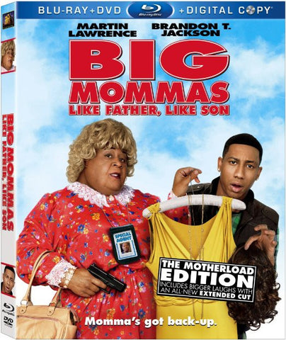 Big Momma s House: Like Father Like Son (Blu-ray + DVD + Digital Copy) (Blu-ray) (Bilingual) BLU-RAY Movie