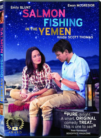 Salmon Fishing in the Yemen DVD Movie